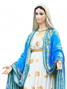 http://www.123rf.com/photo_16314755_virgin-mary-statue-in-front-of-the-cathedral-of-the-immaculate-conception.html